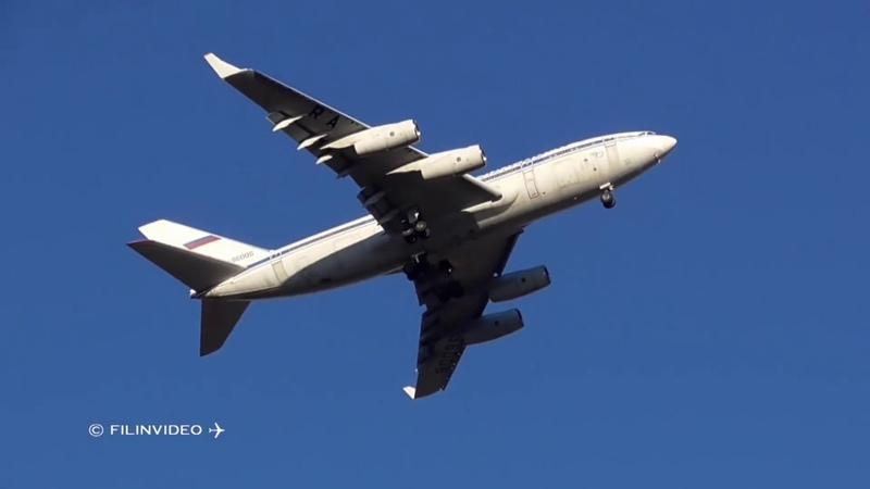 Третий борт Ил-96 перелетел из Домодедово в Жуковский