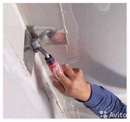 Как выровнять наружный угол стены