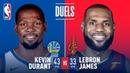 Kevin Durant LeBron James Battle in Game 3 NBANews NBA NBAPlayoffs Cavaliers LeBronJames Warriors KevinDurant