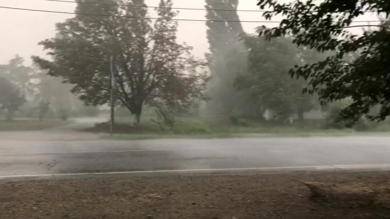 Велозаезд на Красный лес. Красноармейский район. Попал под ливень.