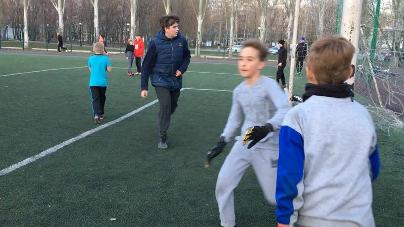 Тренировка в Парк Гагарина⚽️