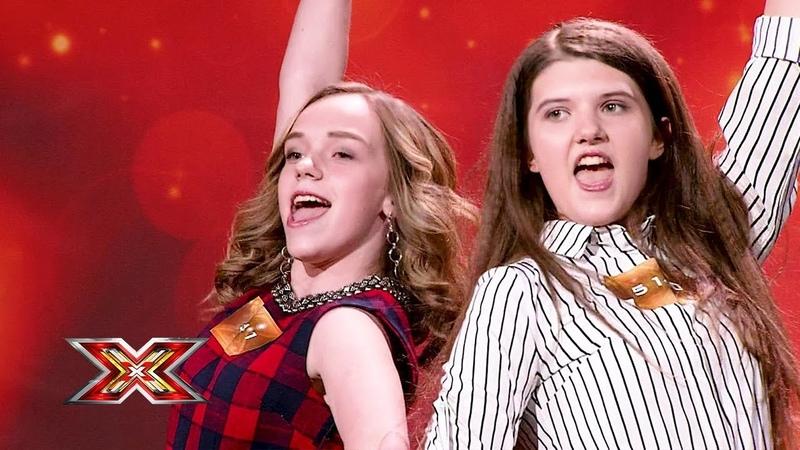 Дуэт Twice. X Factor Казахстан. Прослушивания. 7 сезон. Эпизод 1.