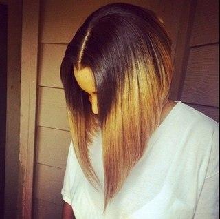 фото девушек с причёской каре