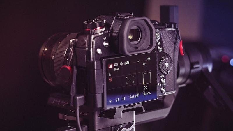 DJI Ronin S BEST Gimbal for GH5 Panasonic Cameras G9 GH5s etc