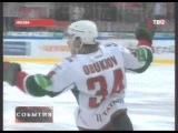 КХЛ Спартак - АК Барс 1:2 Обзор игр