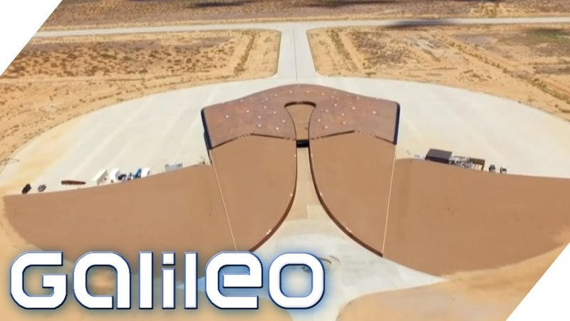Der private Weltraumbahnhof von New Mexico | Galileo | ProSieben