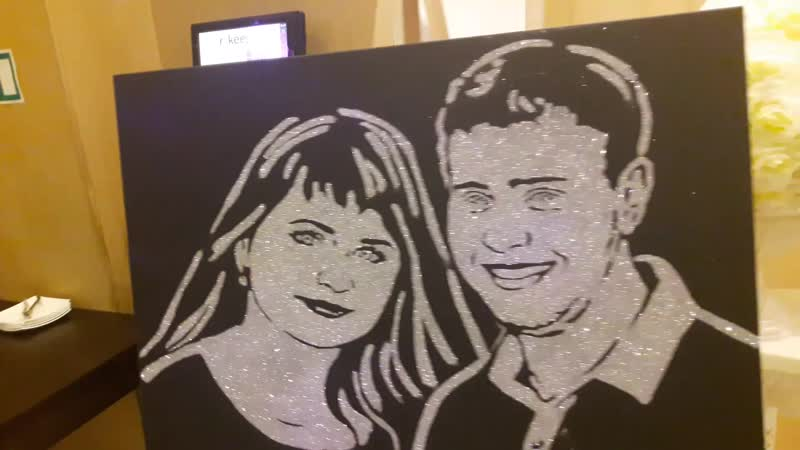 Звездный портрет на праздник юбилей подарок на свадьбу Шоу проект Самум Нижневартовск Мегион Сургут Радужный