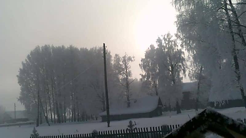 В объятиях зимней стужи
