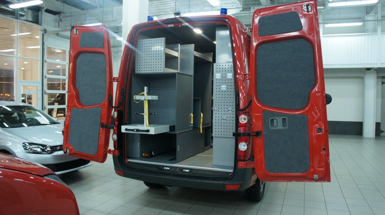Пожарный VW Crafter