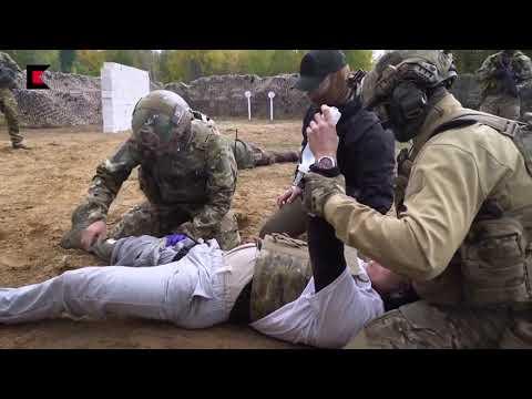 Российский спецназ тренировка с боевыми патронами! Не для слабонервных