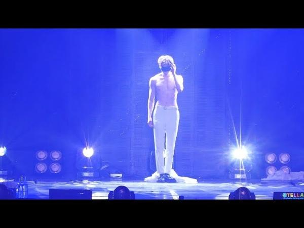 180603 Wanna One(워너원) 황민현(Minhyun) - 독무 / World Tour in Seoul