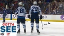 Patrik Laine Scores Hat Trick For Jets Against Canucks