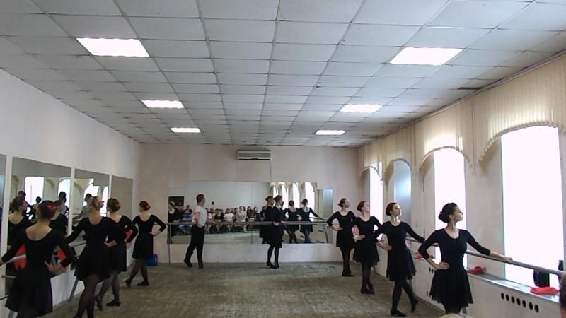 Народный танец 2 курс 1 подгруппа 1 11062018