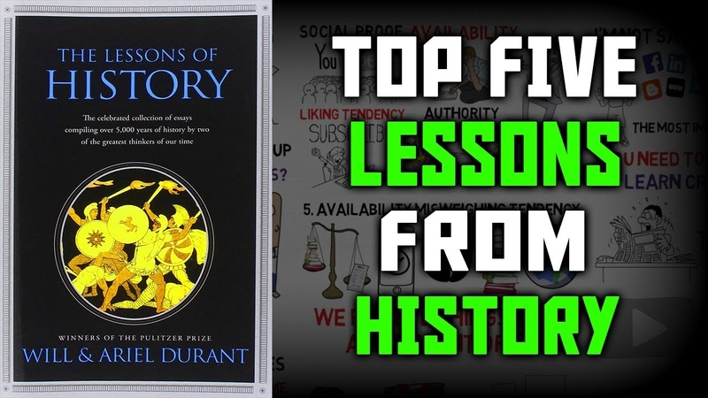 LESSONS OF HISTORY BY WILL ARIENT DURANT - Animated Book Summary