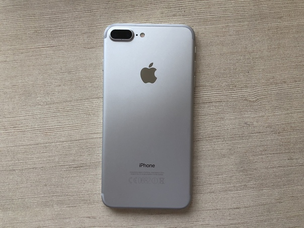 iPhone 7 Plus 128gb Silver оригинал