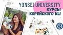 Тур по YONSEI KLI курсы корейского