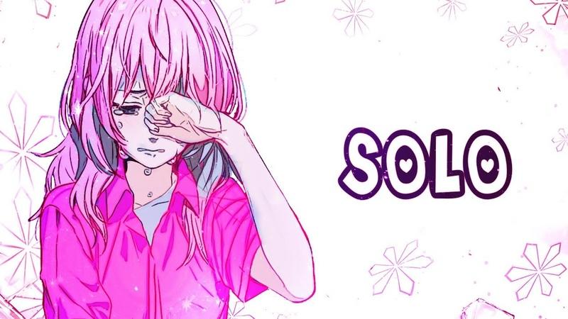 Nightcore - SOLO (English version) BLACKPINK - (Lyrics)