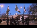 Nordic Resistance Movement - March in Helsinki Finland