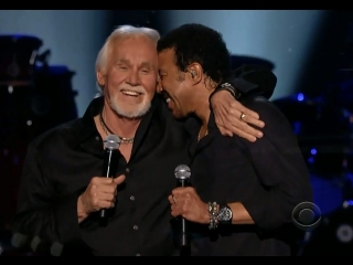 Kenny Rogers Lionel Richie - Lady (Live) HD-2013 (75 лет)