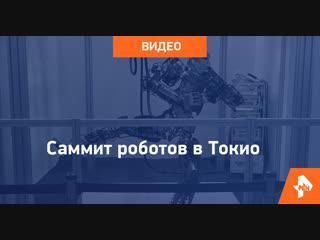 Саммит роботов в Токио
