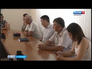 В Избирательной комиссии Калмыкии состоялась процедура жеребьевки