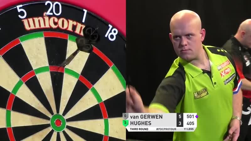 2019 PC 3 | VAN GERWEN HIT'S NINE-DARTER