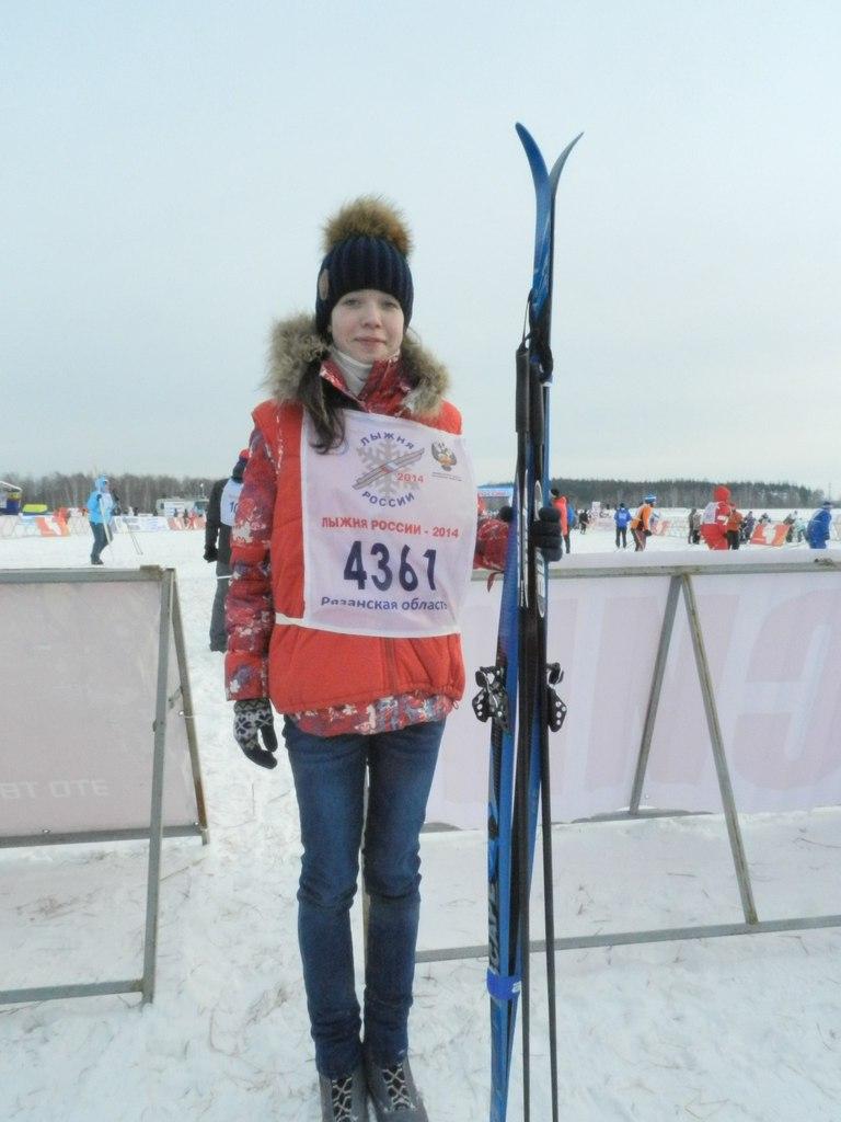 Фоторепортаж с Лыжни России