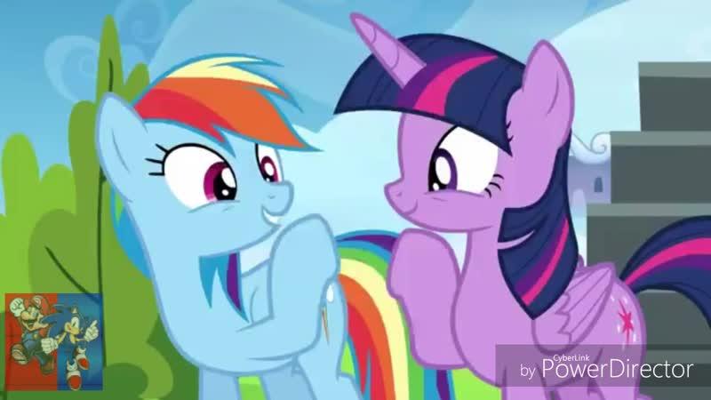 Rainbow Dash Twilight Sparkle - Can Can