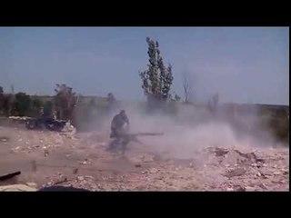 ВСУ ведут обстрел попочленцев в Широкино из СПГ