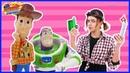 АЛЕКС ГАРАЖ: Гаечка, Баз и Вуди собирают машинки! История игрушек.