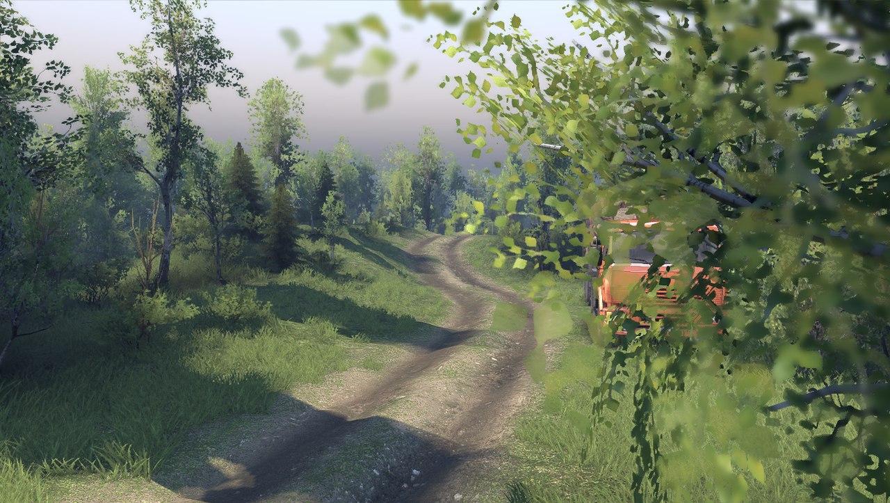 """Карта """"Загарье"""" для 13.04.15 для Spintires - Скриншот 2"""