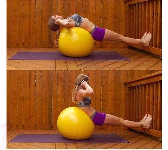 Վարժություններ ամբողջ մարմնի համար (ֆոտոշարք)