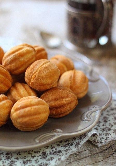 """Вкус детства - печенье """"Орешки"""" Ингредиенты: для теста: 1,5 стакана"""