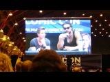 Game of Thrones Talk Panel at LFCC 2013 Part One Lena Headey Jason Momoa & Joe Dempsey