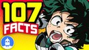 107 My Hero Academia Anime Facts YOU Should Know Anime Facts 107 Anime Facts S2 E1