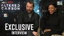 James Purefoy Renée Elise Goldsberry - Altered Carbon Exclusive Interview