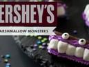 Bite-Size Marshmallow Monsters