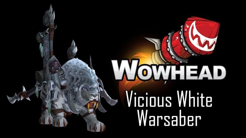 Vicious White Warsaber