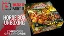 Zombicide Green Horde - Horde Box Unboxing (Kickstarter Exclusives Wave 2)