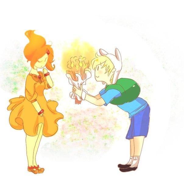 Арты из мультфильма Время Приключений