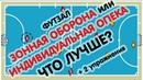 ЗОННАЯ ОБОРОНА V/S ЛИЧНАЯ ОПЕКА - Тактика Футзала футзал минифутбол тактика оборона защита