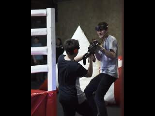 Лазертаг в Rocky Boxing Club