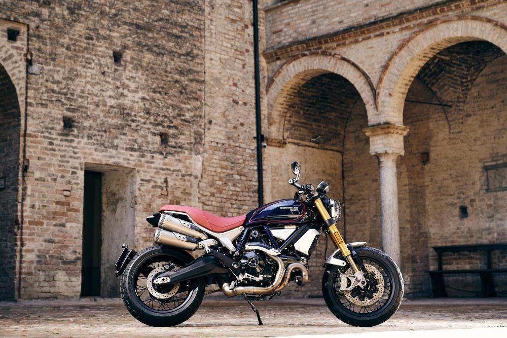 Мотоцикл Ducati Scrambler 1100 Club Italia