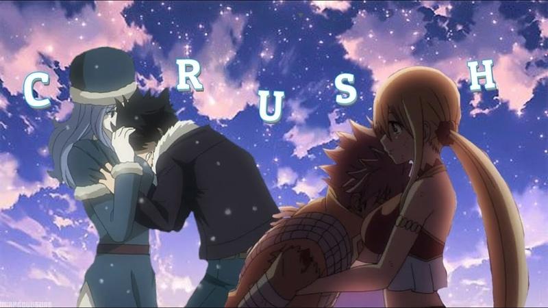 Nalu and Gruvia [AMV] - Crush ♡