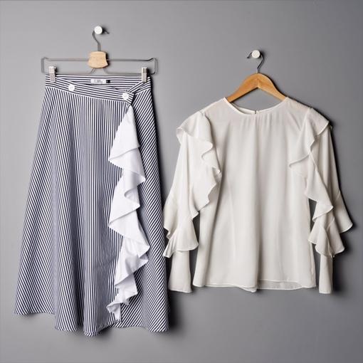 Скажем «Да!» платьям и юбкам с оборками и воланами ...