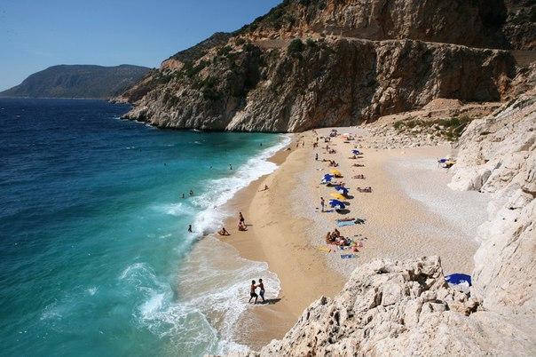 Черепаший берег, поселок Дальян. Топ-5 лучших песчаных пляжей Турции