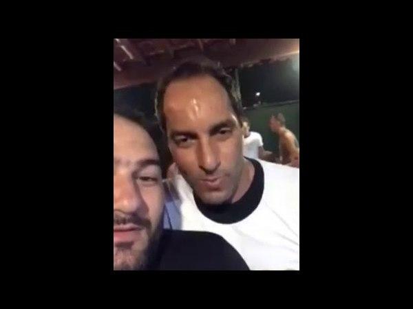 Edmundo bêbado Quem comeu mais mulher, você ou Renato ?