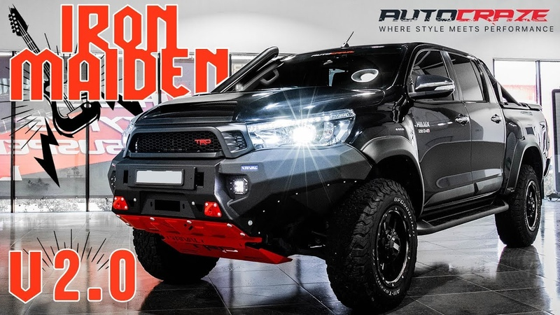 IRON MAIDEN v2.0 Toyota Hilux Build - Rival Bar, Snorkel, Tyres, Lift Kit, Grid GD07