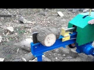 Дровокол колун log splitter Артмаш проверка на прочность