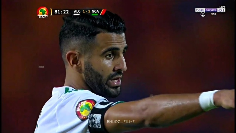 Riyad Mahrez Vs Nigeria HD 1080i (14/07/2019) كل ما فعله رياض محرز ضد نيجيريا